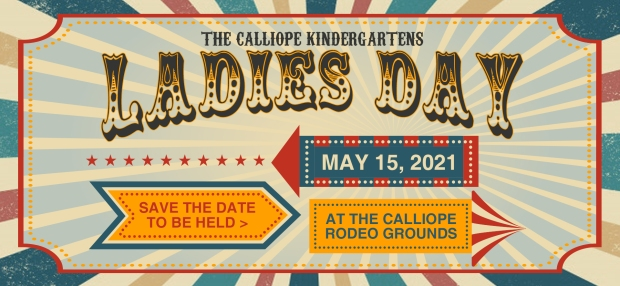 Calliope Kindy Ladies Day 2021 Save the Date FB Banner