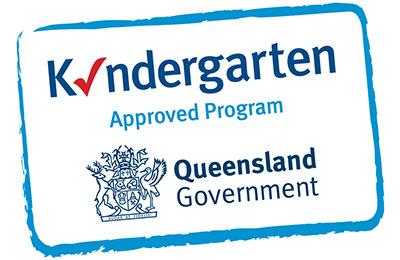 Kindergarten Approved Program Tick Logo